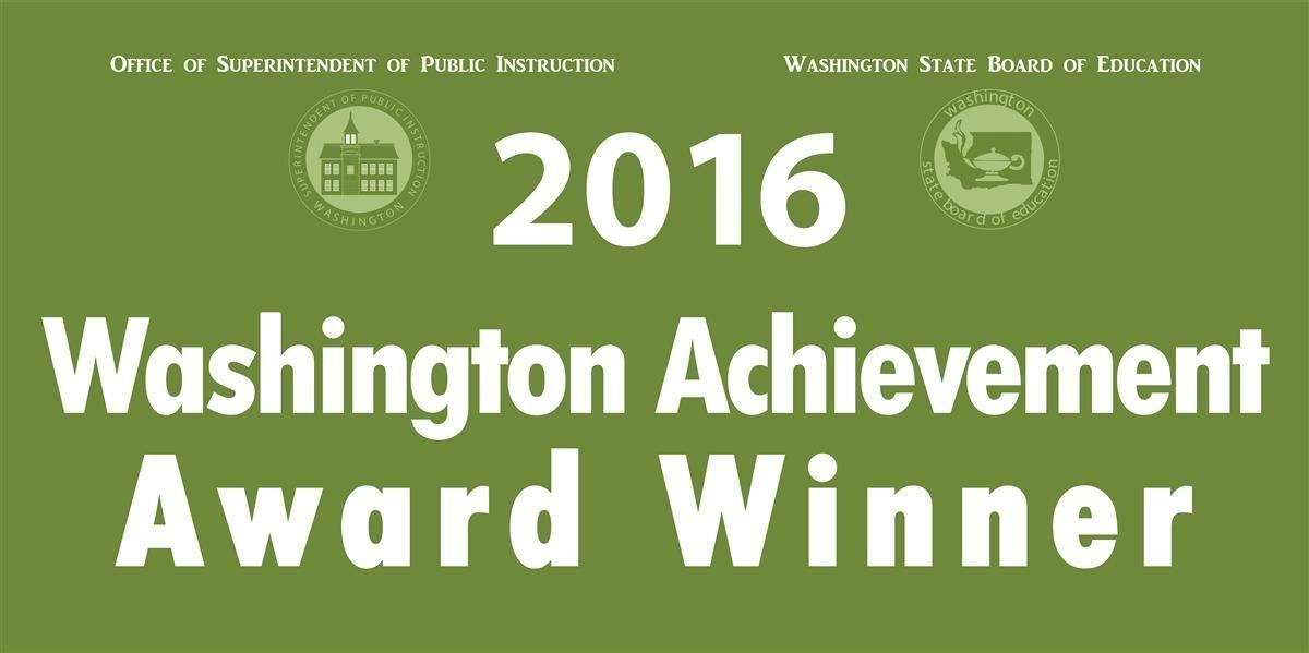 2016 Washington Achievement Award