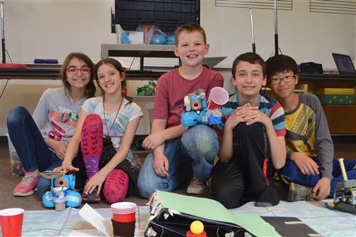 Echo Lake Robotics Club Ranks High in International Competition