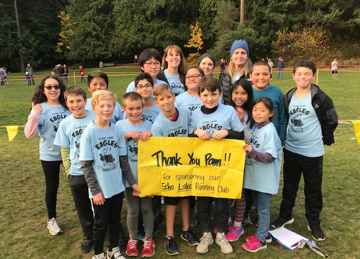 Congratulations to Echo Lake Running Club!