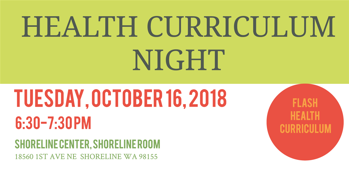 Health Curriculum Review