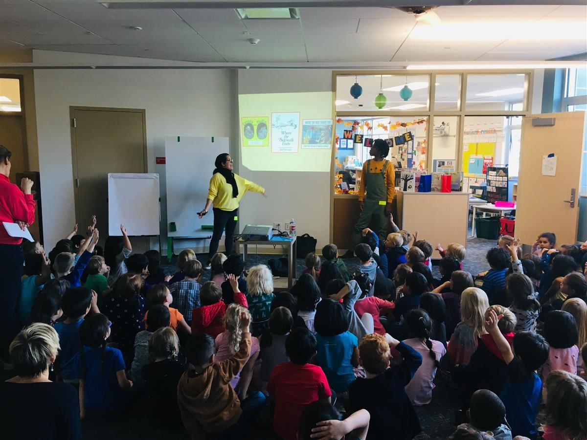 Fantastic Author visit for K-2