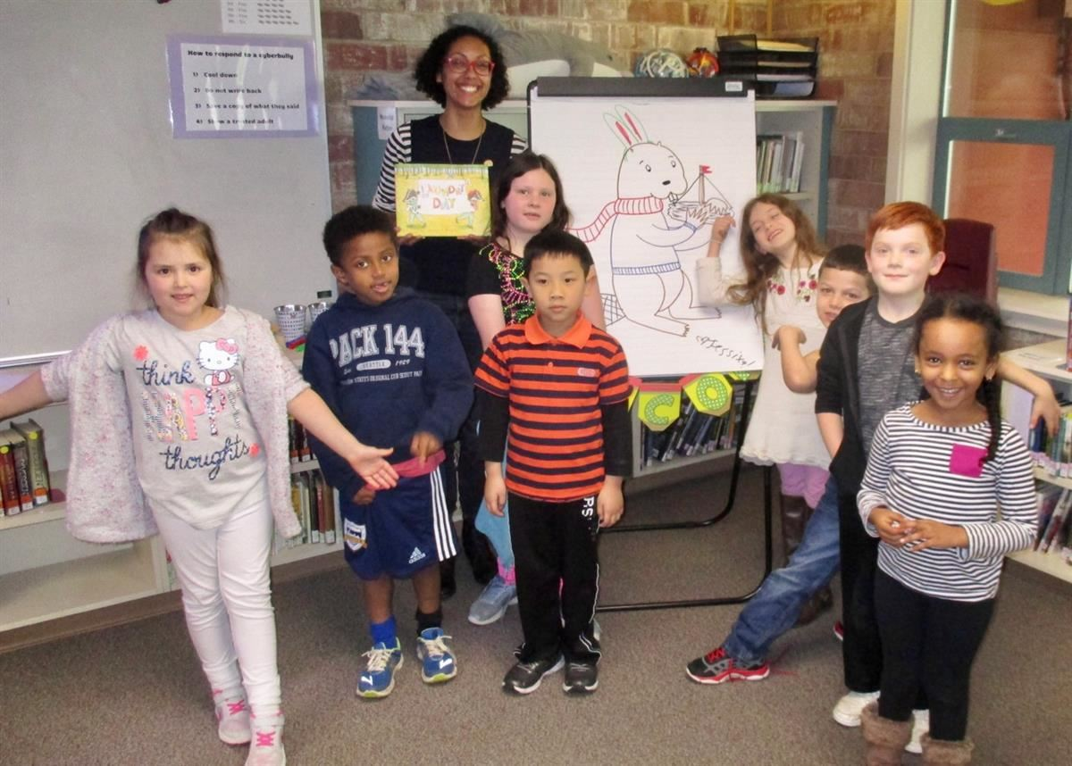 Third Place Books Brings Author/Illustrator Jessixa Bagley To LFP First Graders
