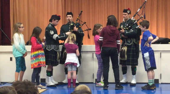 The 2018 Shorecrest Highlanders Band and Dancers visited LFP students.  Watch this video of the band's performance.