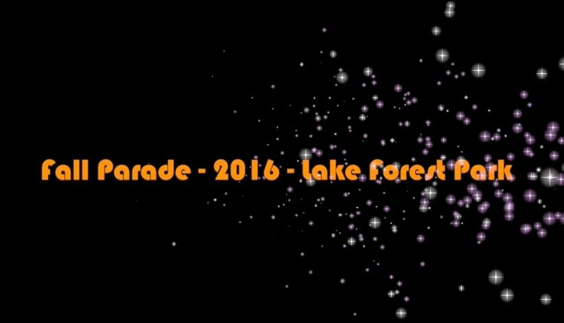 Fall Parade and Parties Video