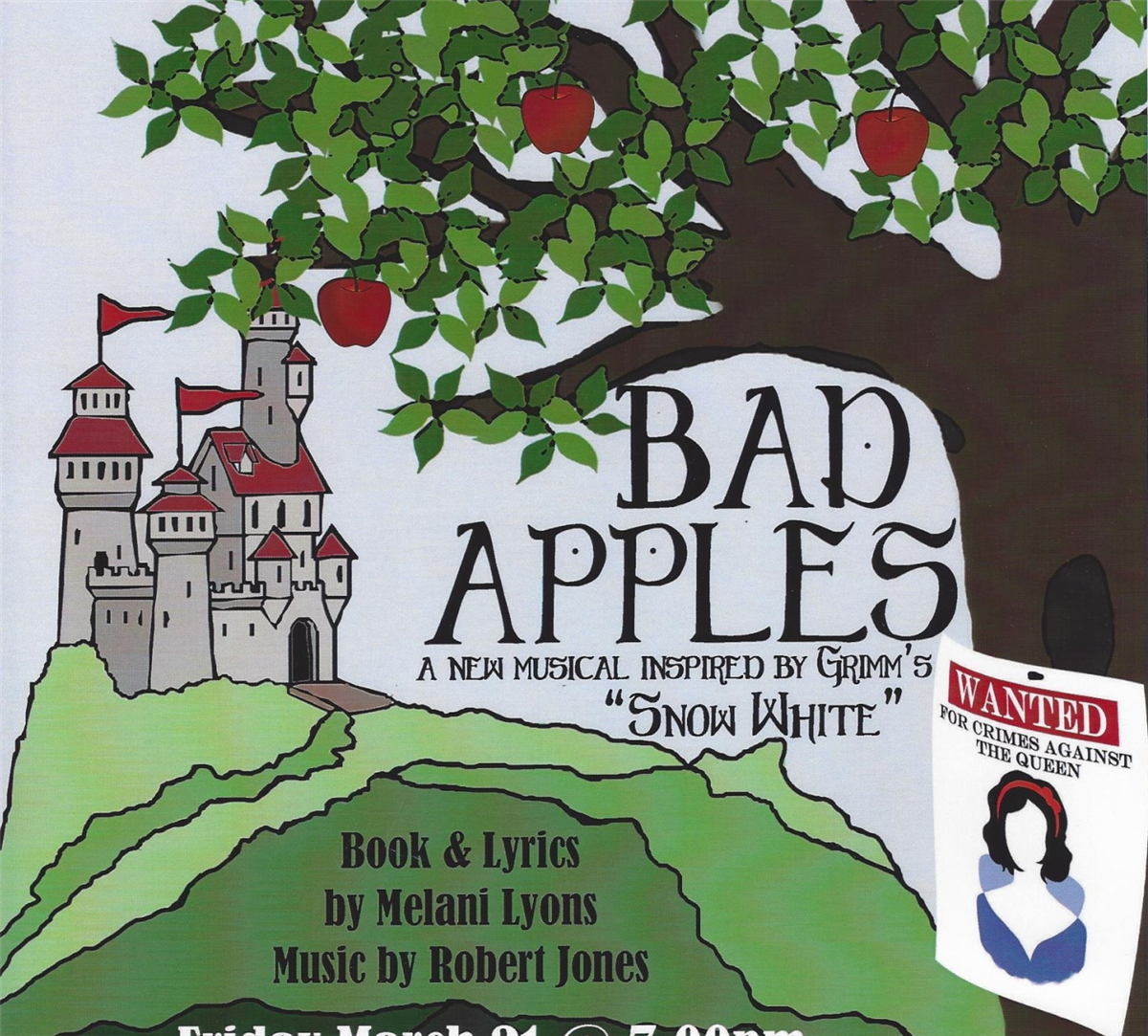 "MP Drama Club Presents ""Bad Apples"" - Rescheduled for May 15th and 16th"