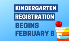 2021 - 2022 Kindergarten Registration Begins February 8th