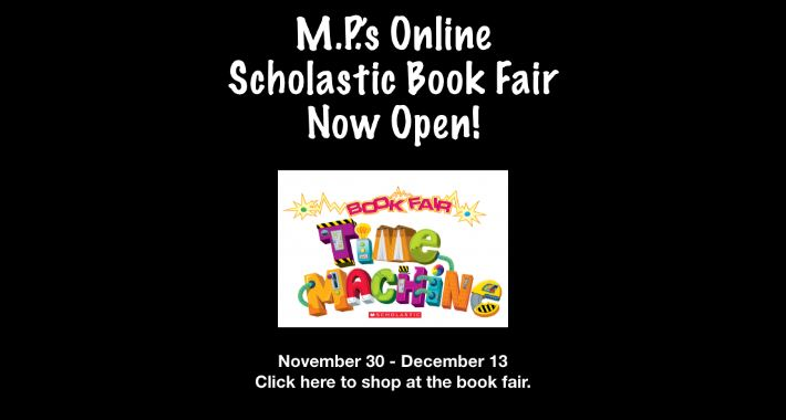 MP's Virtual Scholastic Book Fair Now Open!