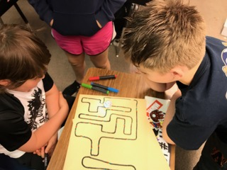 Ozobot line following