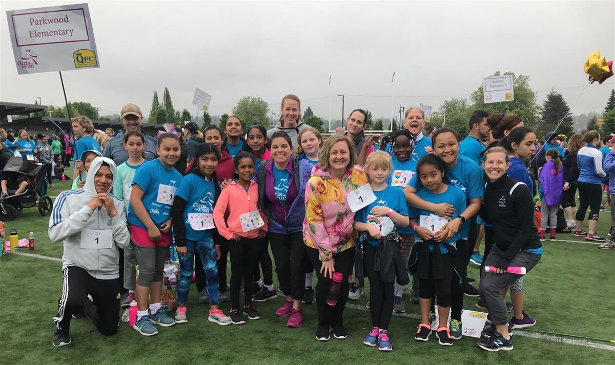 Parkwood Panthers @ Girls on the Run!