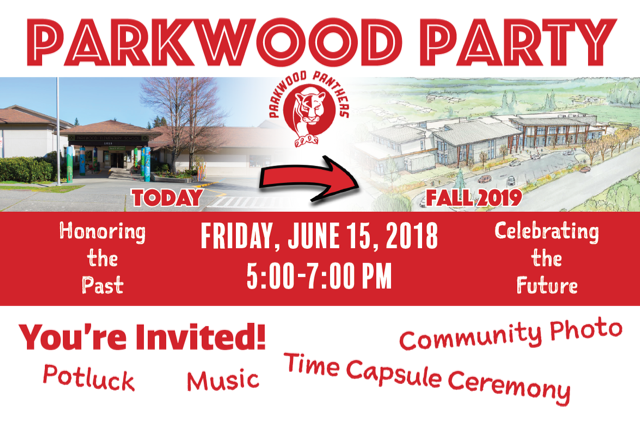 Parkwood Party!  Friday, June 15th