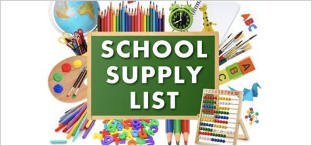 2020-2021 Remote Learning Supply List