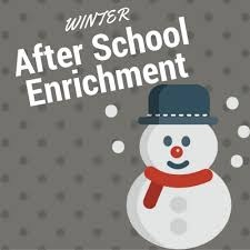 Winter Enrichment classes are HERE!