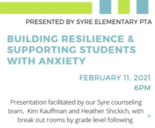 Building Resilience & Supporting Students With Anxiety