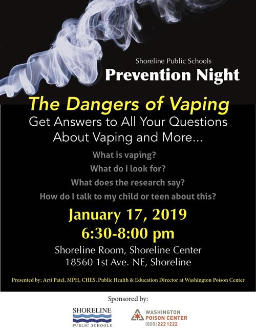 Prevention Night, January 17th