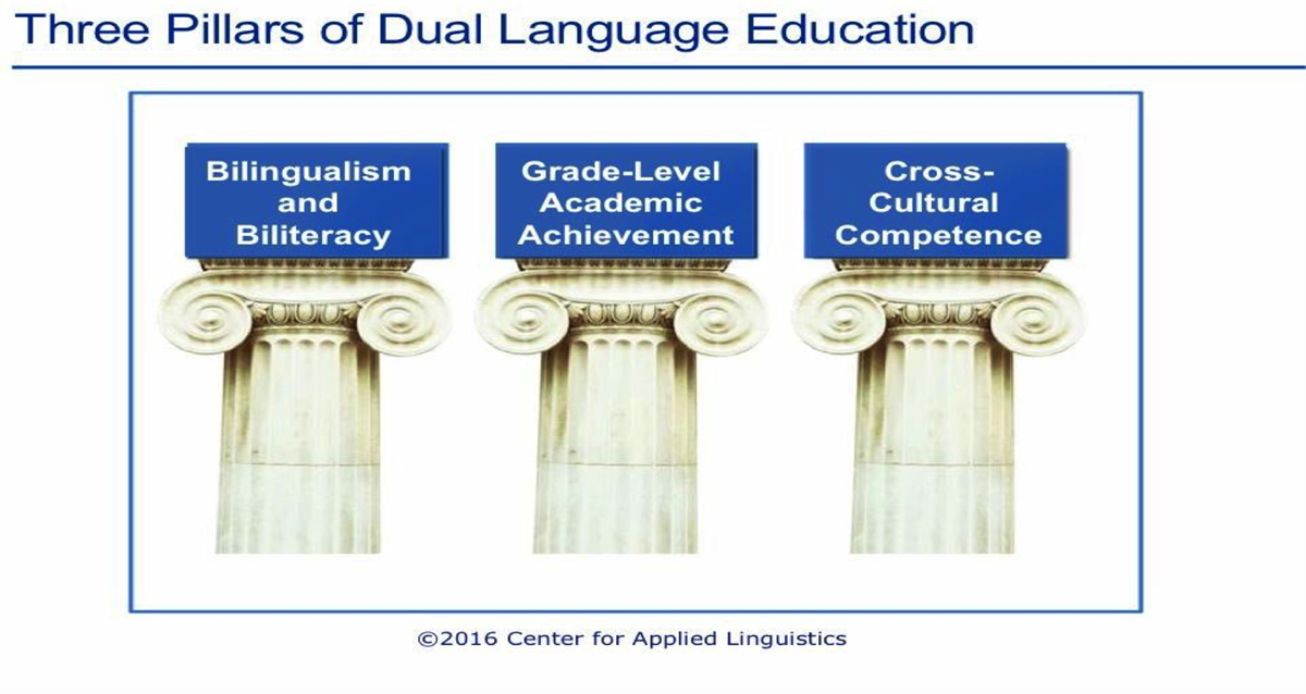 Three pillars of Dual Language