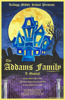 "Kellogg Middle School Presents ""The Addams Family"""