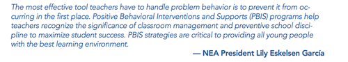 Quote from NEA President