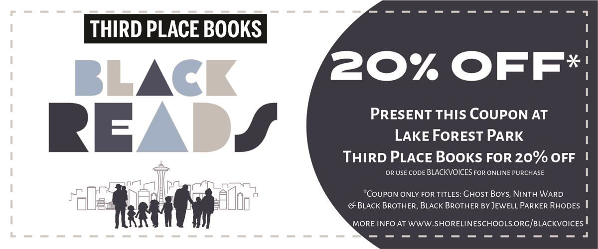 20% off coupon at Third Place Books