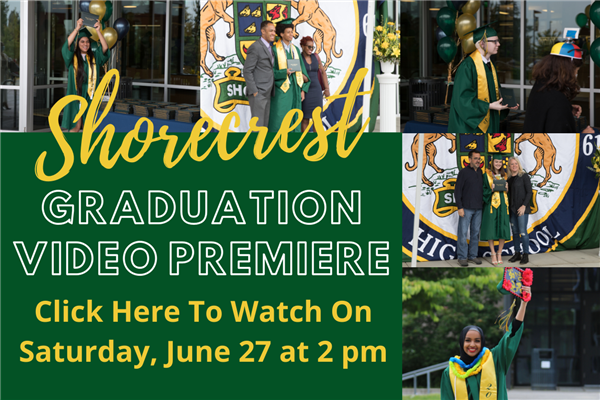 Shorecrest graduation video premiere