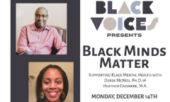 Black Voices: Black Minds Matter Webinar Recording