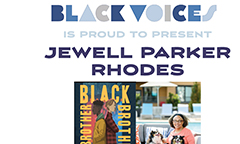 Black Voices Presents Jewell Parker Rhodes on Nov. 17