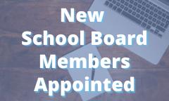 New School Board Members Appointed