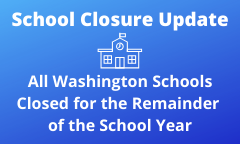 Closure Update: Schools to Stay Closed for Remainder of the School Year