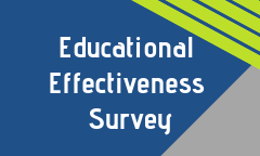Take our Educational Effectiveness Survey by Oct. 26