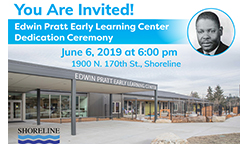 Edwin Pratt Early Learning Center Dedication Ceremony on June 6