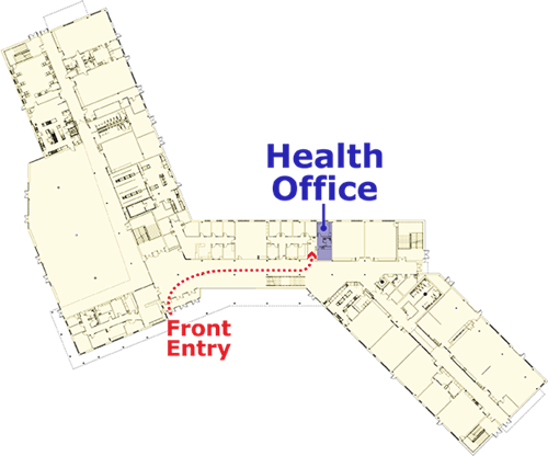Health Office Location