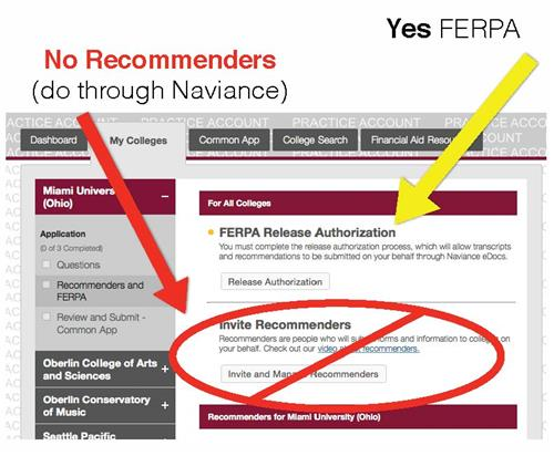 ferpa form waive or not  12. Complete the FERPA Waiver in the Common App