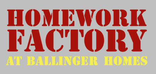 Help Students with Homework (or help them bake!) at Ballinger Homes  Tuesdays, Wednesdays, or Thursdays