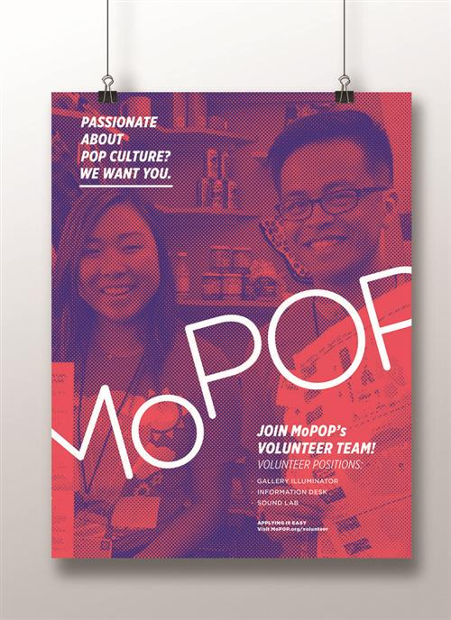 photo of MoPOP poster