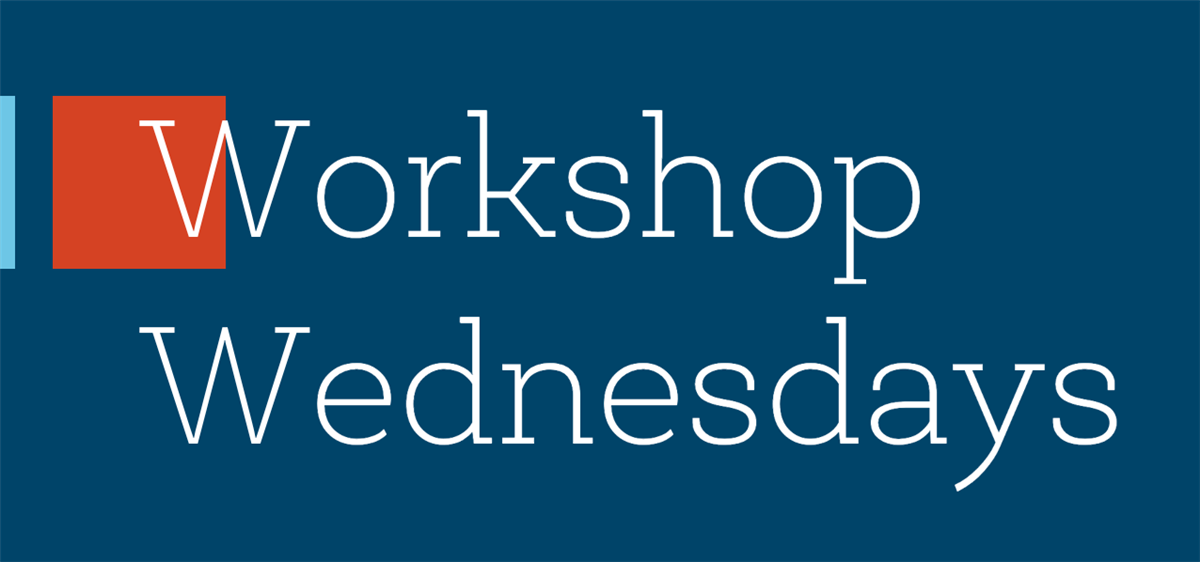 Workshop Wednesdays:  What is a Liberal Arts College 9/23; Filling Out the Common Application 10/7; Navigating Financial Aid 10/21