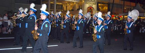 Shorewood marching band