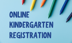 Register for Kindergarten Online