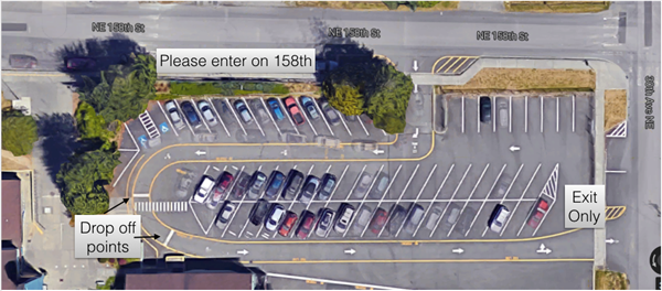 BC Parking Lot Diagram