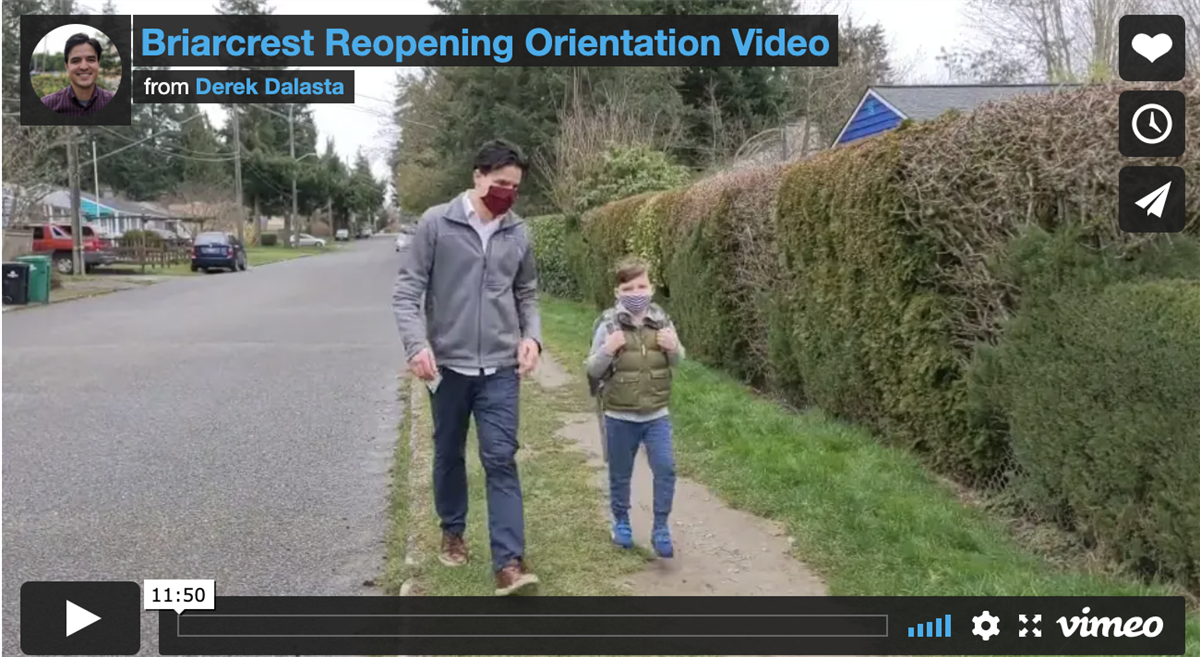 Reopening Orientation Video